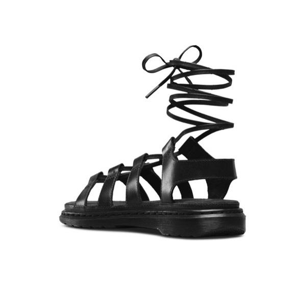 Dr. Martens Shoes - Kristina Oily illusion sandals NEW in box